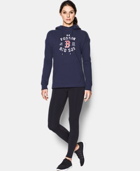 New Arrival Women's Boston Red Sox Armour® Fleece Hoodie  1 Color $69.99