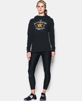 New Arrival Women's Pittsburgh Pirates Armour® Fleece Hoodie  1 Color $69.99