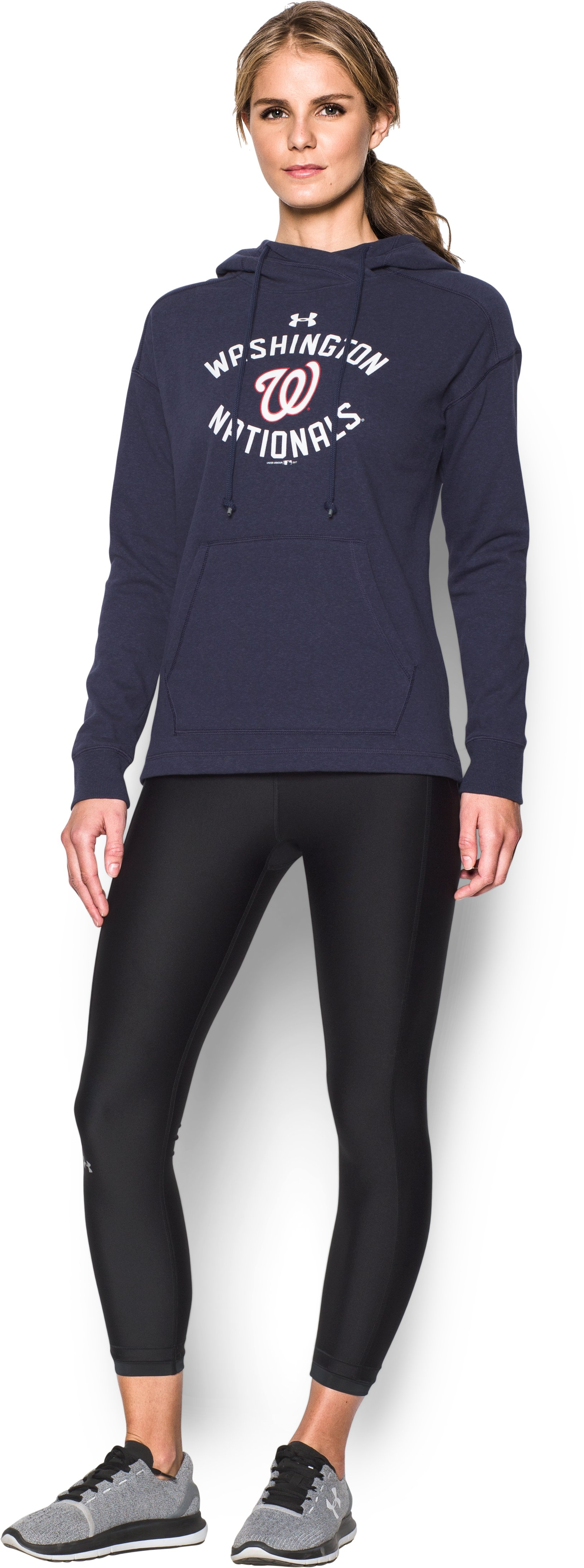 Women's  Washington Nationals Armour Fleece® Hoodie, Midnight Navy