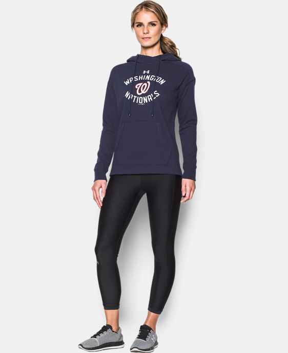 New Arrival Women's Washington Nationals Armour® Fleece Hoodie  1 Color $69.99