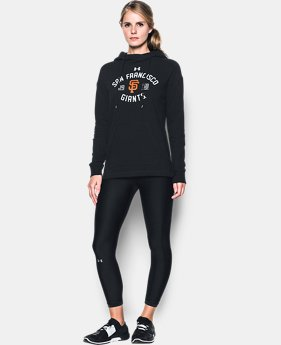 New Arrival Women's San Francisco Giants Armour® Fleece Hoodie  1 Color $69.99