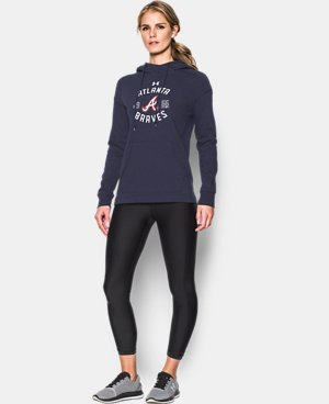 New Arrival Women's Atlanta Braves Armour® Fleece Hoodie  1 Color $69.99