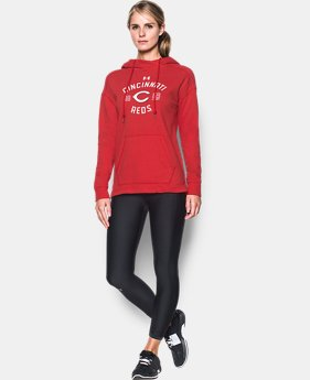 New Arrival Women's Cincinnati Reds Armour® Fleece Hoodie  1 Color $69.99