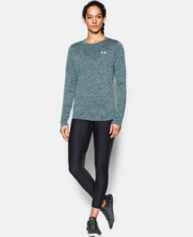 Women's UA Tech™ Twist Crew Long Sleeve  1 Color $34.99