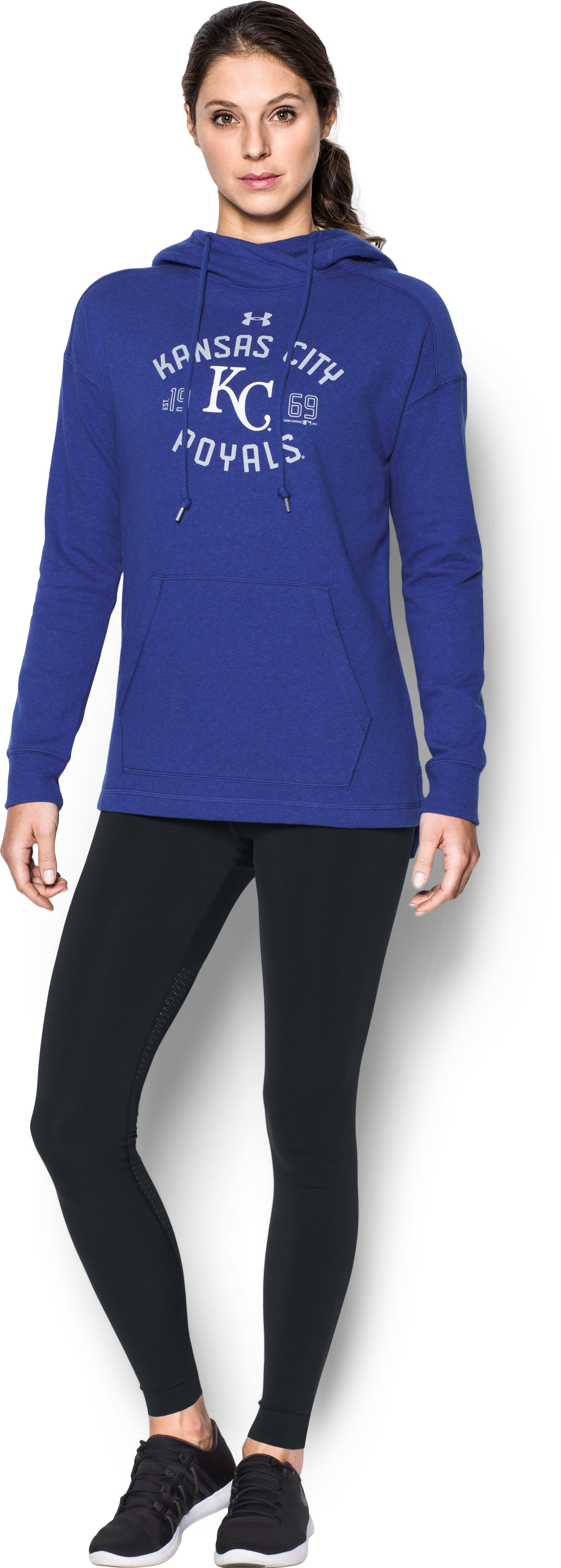 Women's  Kansas City Royals Armour Fleece® Hoodie, Royal
