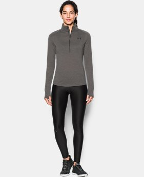 Women's UA Threadborne™ ½ Zip  1  Color Available $29.99 to $37.99