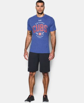 New Arrival  Men's Chicago Cubs Tri-Blend T-Shirt  1 Color $39.99