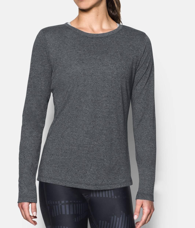 d9d0f644 Women's UA Threadborne™ Twist Long Sleeve Crew 1 Color Available $34.99