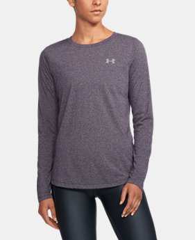 Women's UA Threadborne™ Twist Long Sleeve Crew LIMITED TIME OFFER 1 Color $28