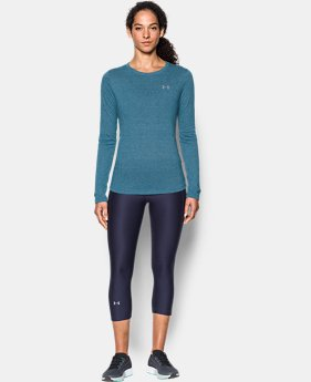 Women's UA Threadborne™ Twist Long Sleeve Crew  3 Colors $34.99
