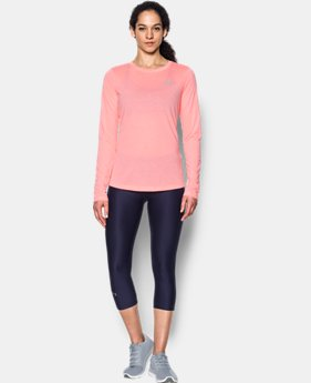 Women's UA Threadborne™ Twist Long Sleeve Crew LIMITED TIME OFFER 1 Color $24.49