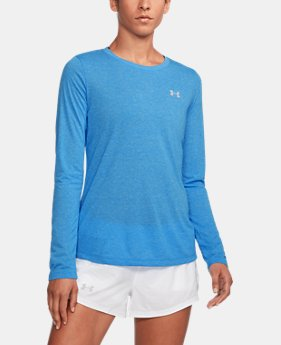 Women's UA Threadborne™ Twist Long Sleeve Crew  2 Colors $34.99