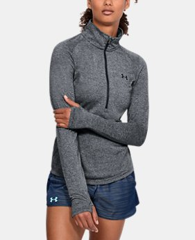 Women's UA Threadborne™ Twist ½ Zip  1 Color $49.99