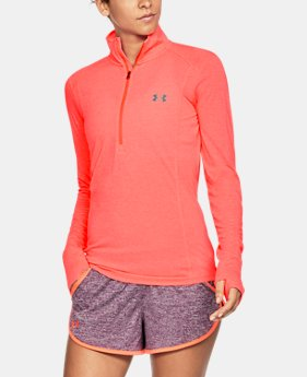 New Arrival  Women's UA Threadborne™ Twist ½ Zip  5 Colors $59.99