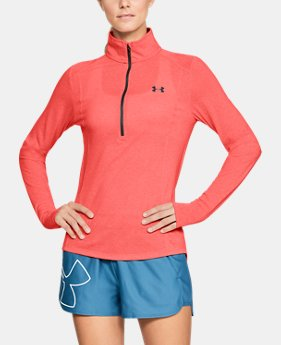 Women's UA Threadborne™ Twist ½ Zip FREE U.S. SHIPPING 2  Colors Available $49.99