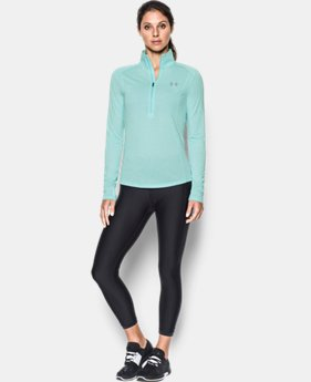 New to Outlet Women's UA Threadborne™ Twist ½ Zip  2 Colors $37.49