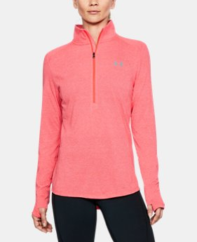 Women's UA Threadborne™ Twist ½ Zip  1  Color Available $29.99 to $37.49