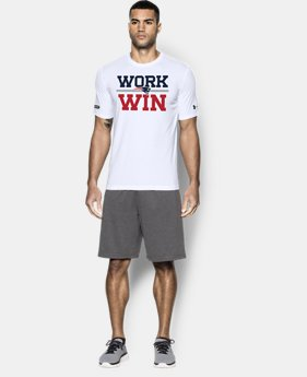 Men's NFL Combine Authentic Work Win T-Shirt  3 Colors $35