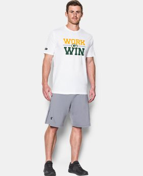 Men's NFL Combine Authentic Work Win T-Shirt  4 Colors $35
