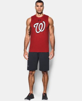 New to Outlet Men's Washington Nationals UA Tech™ Tank  1 Color $20.99