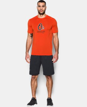 Men's Baltimore Orioles UA Raid T-Shirt  1  Color Available $29.99