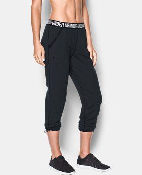 Women's UA Uptown Knit Jogger  4 Colors $79.99