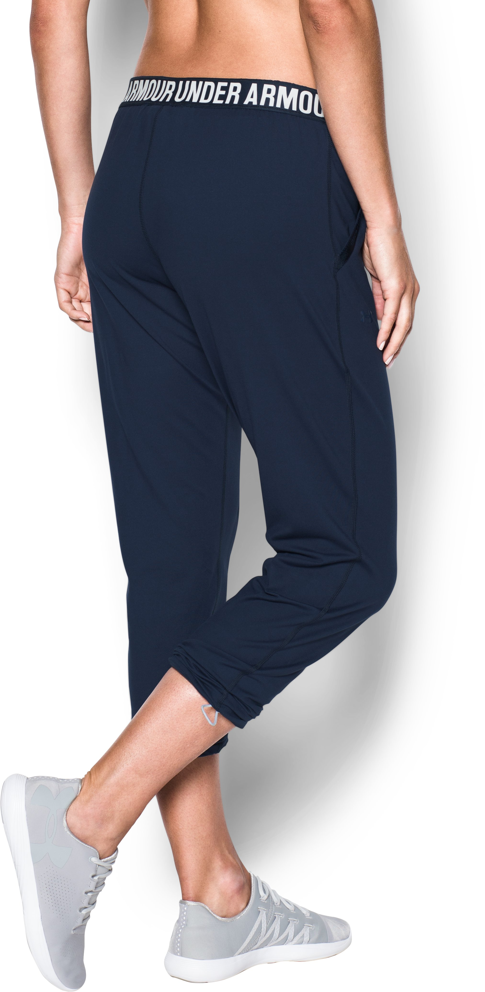 Women's UA Uptown Knit Jogger, Midnight Navy,