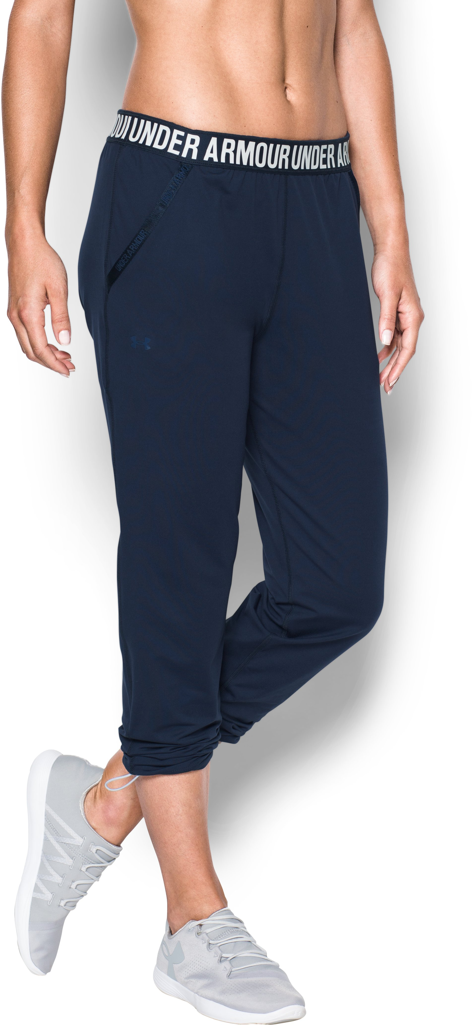 Women's UA Uptown Knit Jogger, Midnight Navy