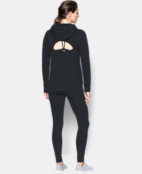 Women's UA French Terry Open Back Warm-Up  1 Color $69.99