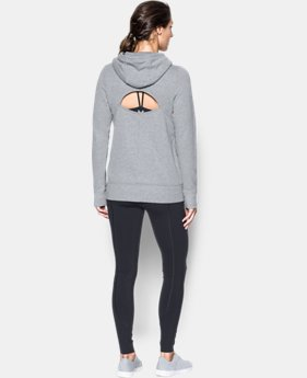 Women's UA French Terry Open Back Warm-Up  1 Color $54.99