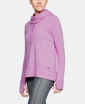 Women's UA French Terry Open Back Warm-Up  1 Color $32.99 to $41.24