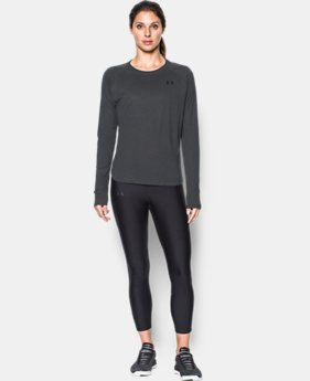 Women's UA Charged Cotton® Tri-Blend Long Sleeve  4 Colors $34.99