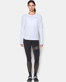 Women's UA Charged Cotton® Tri-Blend Long Sleeve  1 Color $34.99