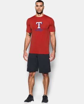 Men's Texas Rangers UA Raid T-Shirt  1  Color Available $29.99