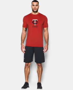Men's Twins UA Raid T-Shirt  1 Color $25.49