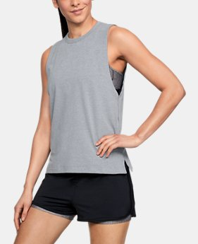 Women's UA Muscle Tank FREE U.S. SHIPPING 1  Color Available $24.99
