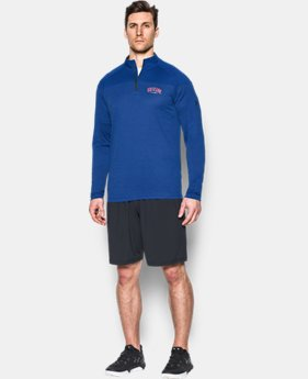 New to Outlet Men's Chicago Cubs UA Tech™ ¼ Zip  1 Color $41.99