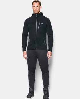 Men's UA ColdGear® Reactor Fleece Hoodie  1  Color Available $99.99