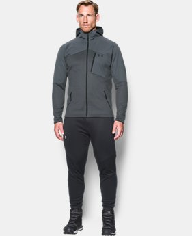 New Arrival  Men's UA ColdGear® Reactor Fleece Hoodie  2 Colors $114.99