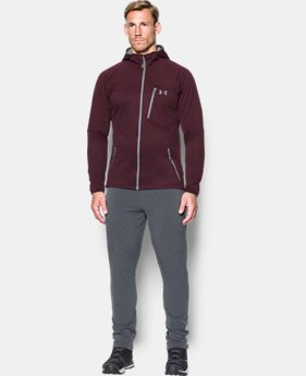 New Arrival  Men's UA ColdGear® Reactor Fleece Hoodie  1 Color $114.99