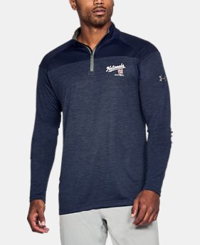 Men's Washington Nationals UA Tech™ ¼ Zip  1 Color $41.99