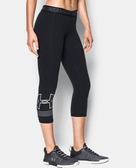 New Arrival  Women's UA Favorite Graphic Capris  1 Color $49.99