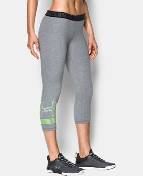 New Arrival Women's UA Favorite Graphic Capris  2 Colors $44.99