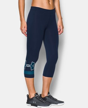 New to Outlet Women's UA Favorite Graphic Capris  3 Colors $33.74 to $33.99