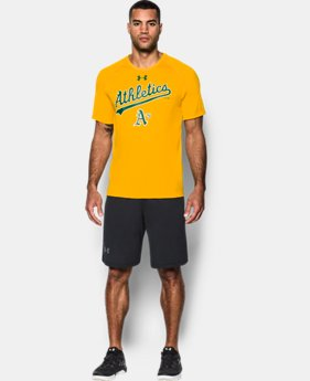 Men's Oakland A's UA Tech™ T-Shirt  1 Color $26.99