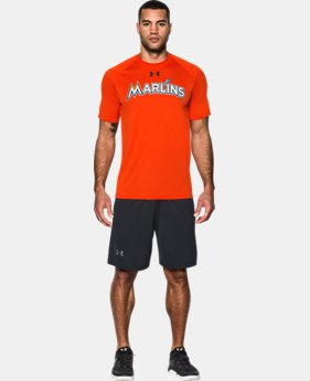 Men's Miami Marlins UA Tech™ T-Shirt  1  Color Available $26.24
