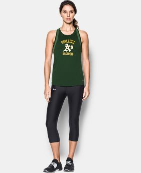 Women's Oakland Athletics UA Tech™ Mesh Tank  1 Color $19.99