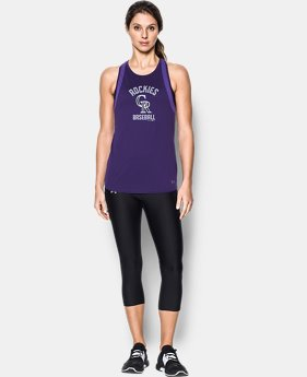 Women's Colorado Rockies UA Tech™ Mesh Tank  1 Color $19.99