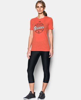 Women's Baltimore Orioles UA Charged Cotton® Tri-Blend T-Shirt  1 Color $34.99