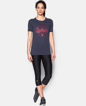 Women's St. Louis Cardinals UA Charged Cotton® Tri-Blend T-Shirt  1 Color $20.99
